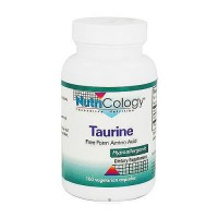 Nutricology Taurine free form amino acid 500 mg vegetarian capsules - 100 ea