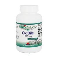 NutriCology Ox Bile 500 mg vegetarian capsules - 100 ea