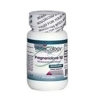 NutriCology Pregnenolone 50 mg tablets - 60 ea