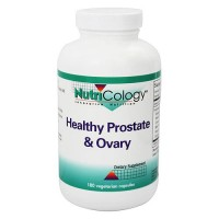Nutricology Healthy Prostate and ovary vegetarian tablets - 180 ea