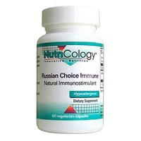 Nutricology Russian Choice Immune capsules supports immune system - 60 ea