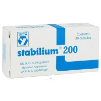Nutricology International Yalacta Stabilium 200 - 30 capsules