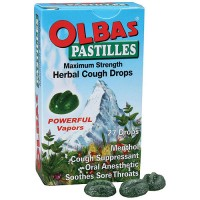Olbas Pastilles Maximum Strength Herbal Cough Drops - 1.6 Oz