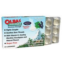 Olbas Maximum Strength Cough Suppressant, Black Currant - 24 Lozenges