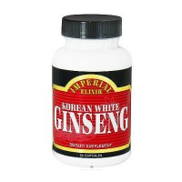 Imperial Elixir Korean white Ginseng capsules - 50 ea