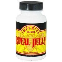 Imperial Elixir Royal jelly 500 mg capsules - 50 ea