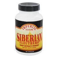 Imperial Elixir Siberian Eleuthero root extract powder - 100 capsules