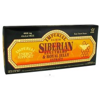 Imperial Elixir siberian eleuthero and royal jelly extract 0.34 oz - 10 vials