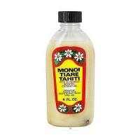 Monoi Tiare Tahiti with sunscreen scented coconut oil - 4 oz
