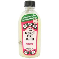 Monoi tiare tahiti tipanie scented coconut oil with jasmine - 4 oz