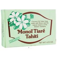 Monoi Tiare Tahiti coconut oil toilet soap - 4.6 oz