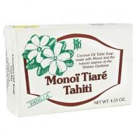 Monoi Tiare Tahiti coconut oil toilet soap vanilla - 4.6 oz