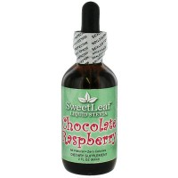 Wisdom Naturals SweetLeaf Liquid Stevia Drops, Chocolate Raspberry - 2 oz