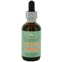 Wisdom Naturals SweetLeaf Liquid Stevia, Valencia Orange - 2 oz
