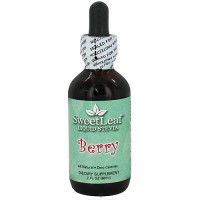 Wisdom Naturals Liquid Stevia SweetLeaf, Berry - 2 oz