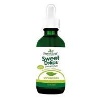 Wisdom Naturals SweetLeaf SteviaClear Sweet Drops - 4 oz