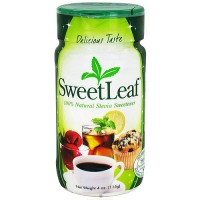 Wisdom Naturals Stevia Plus SweetLeaf Sweetener Powder - 4 oz