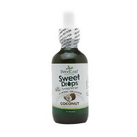 SweetLeaf Liquid Stevia Sweet Drops Sweetner, Coconut - 2 oz