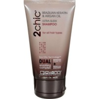 Giovanni ultra sleek shampoo - 1.5 oz, 12 pack