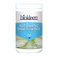 Biokleen automatic dish powder, free and clear - 32 oz, 12 pack