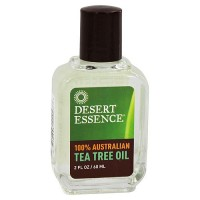 Desert Essence 100% pure Australian tea tree oil, 2 oz
