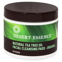 Desert Essence Facial Cleansing Pads, Original - 50 ea