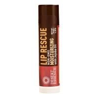 Desert essence lip rescue moisturizing with jojoba oil - 0.15 oz, 24 pack
