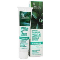 Desert Essence toothpaste with baking soda, wintergreen - 6.25 oz