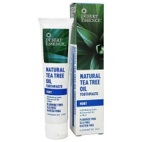 Desert Essence Natural Tea Tree Oil Toothpaste, Mint - 6.25 oz