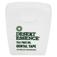 Desert Essence tea tree oil waxed dental tape - 30 yards, 6 pack