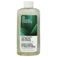 Desert Essence Tea Tree Oil Spearmint Mouthwash - 8 oz