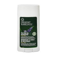 Desert Essence tea tree oil and lavender oil deodorant stick, 2.5 oz