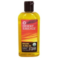 Desert Essence organic jojoba oil for hair, skin and scalp, 4 oz