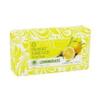 Desert essence bar soap, lemongrass - 5 oz