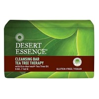 Desert essence bar soap, tea tree therapy - 5 oz