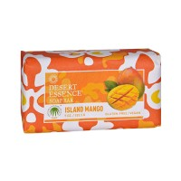 Desert Essence Bar Soap, Island Mango, Gluten Free - 5 Oz