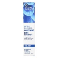 Desert Essence Tea Tree Toothpaste Whitening Plus - 6.5 oz