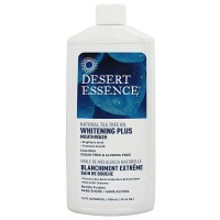 Desert Essence Natural Tea Tree Oil Whitening Plus Mouthwash - 16 oz