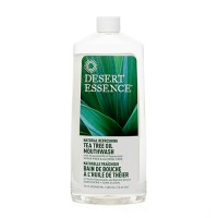 Desert essence mouthwash natural neem cinnamint - 16 oz