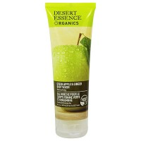 Desert Essence Organics body wash with green apple and ginger, 8 oz