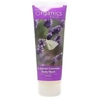 Desert Essence Organics body care bulgarian lavender pure body wash - 8 oz