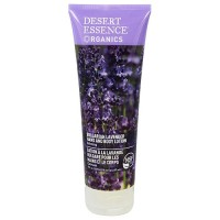 Desert Essence Organics hand and body lotion with Bulgarian lavender, 8 oz