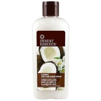 Desert Essence Soft Curls Coconut Hair Cream - 6.4 oz