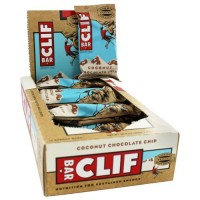 Clif bar - energy bar coconut chocolate chip - 2.4  oz,12 pack