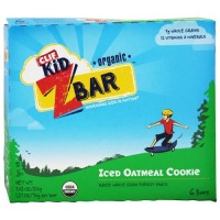 Clif bar kid z-bar organic iced oatmeal cookie - 12 pack