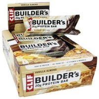 Clif bar builder's protein vanilla almond crisp bar - 2.4 oz