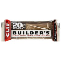 Cliff 20g protein builders double decker crisp bar, Vanilla - 2.4 oz, 12pack