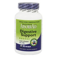 Natures Sources Absorb aid Digestive Support Vegetarian Capsules - 90 ea