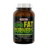 Action Labs All Natural Lipotropic Formula Super Fat Burners Plus Capsules - 60 ea