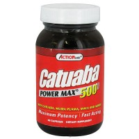 Action Labs catuaba power max 500 fast acting capsules - 60 ea